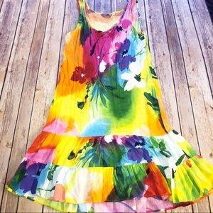 Jams World - Sleeveless Ruffle Dress Size Small
